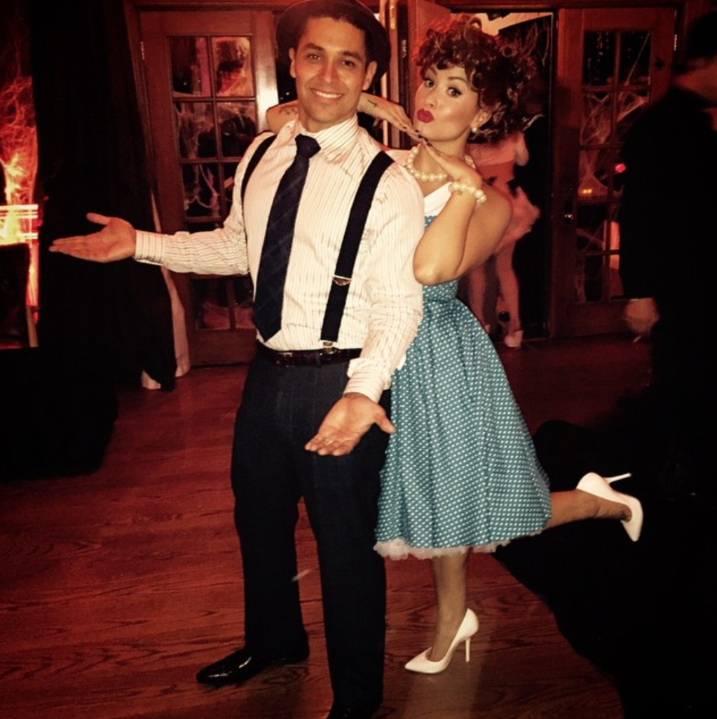 the best celebrity couples halloween costumes ever | glamour