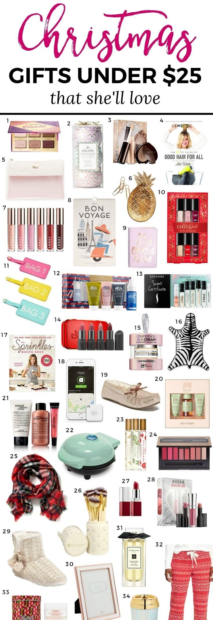 10 Ideal Great Christmas Gift Ideas For Girlfriend the best christmas gift ideas for women under 15 ashley brooke