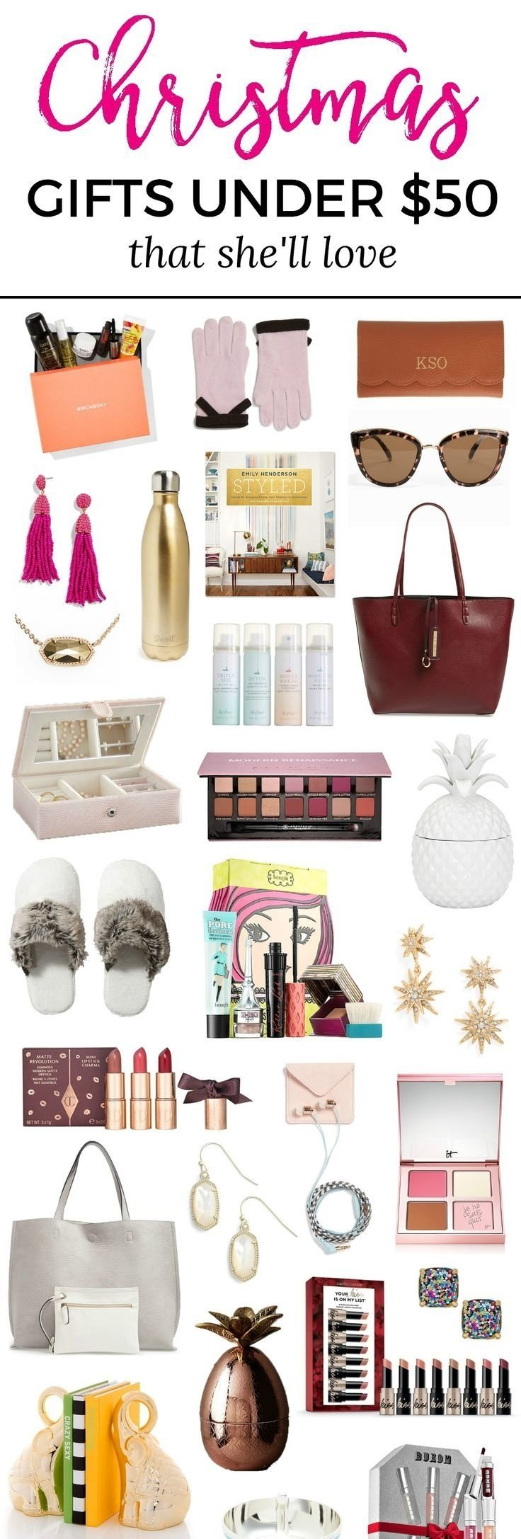 10 Cute Christmas Present Ideas For Women the best christmas gift ideas for women under 50 ashley brooke 1 2021