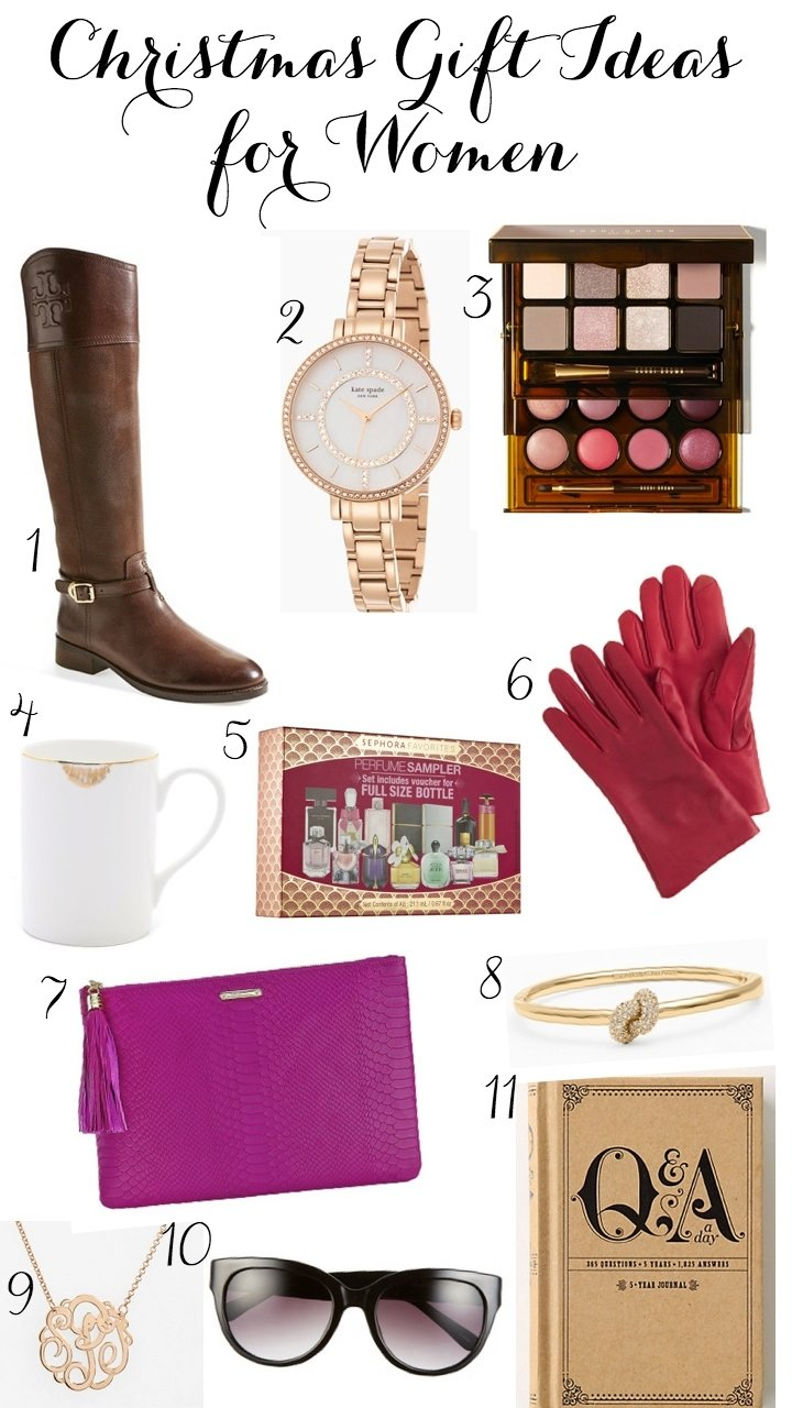 10 Wonderful Great Gift Ideas For Women the best christmas gifts for women ashley brooke nicholas 13 2020