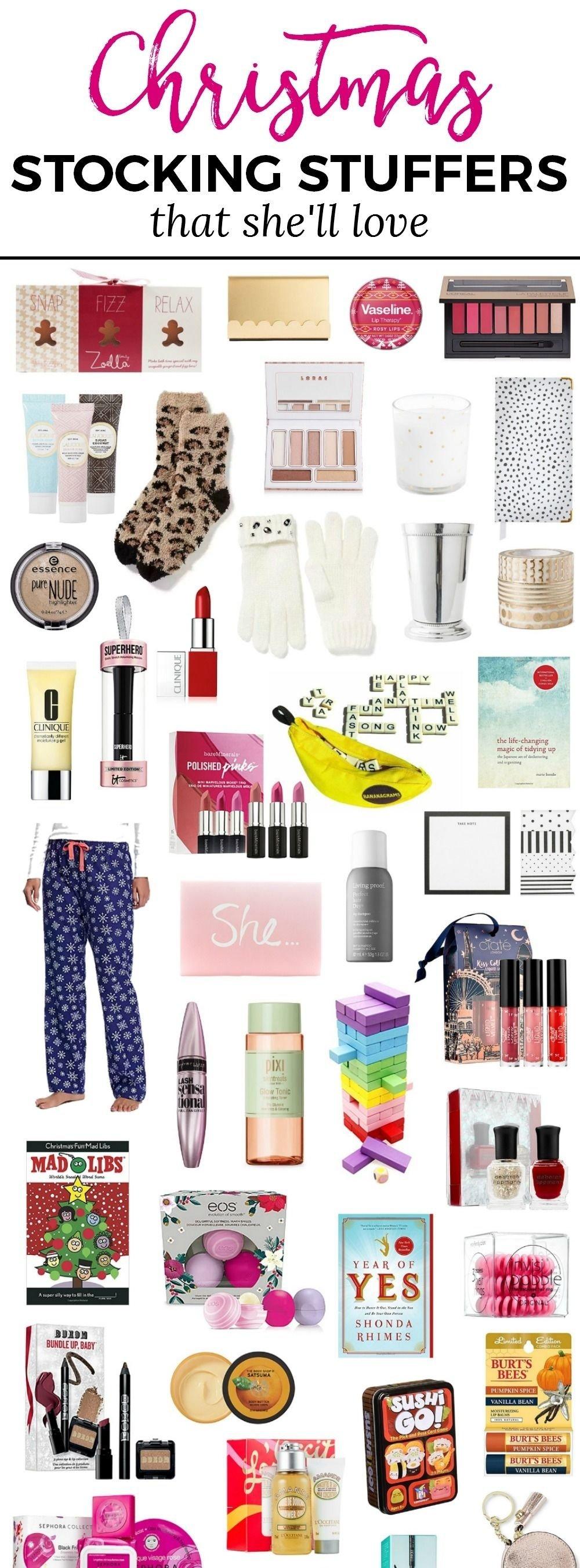 10 Stunning Stocking Stuffer Ideas For Women the best christmas stocking stuffer ideas for women christmas 1 2021