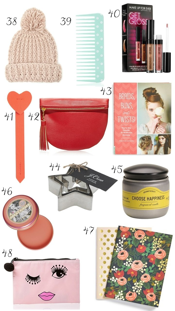 10 Lovable Stocking Stuffer Ideas For Her the best christmas stocking stuffers for her ashley brooke 3 2020