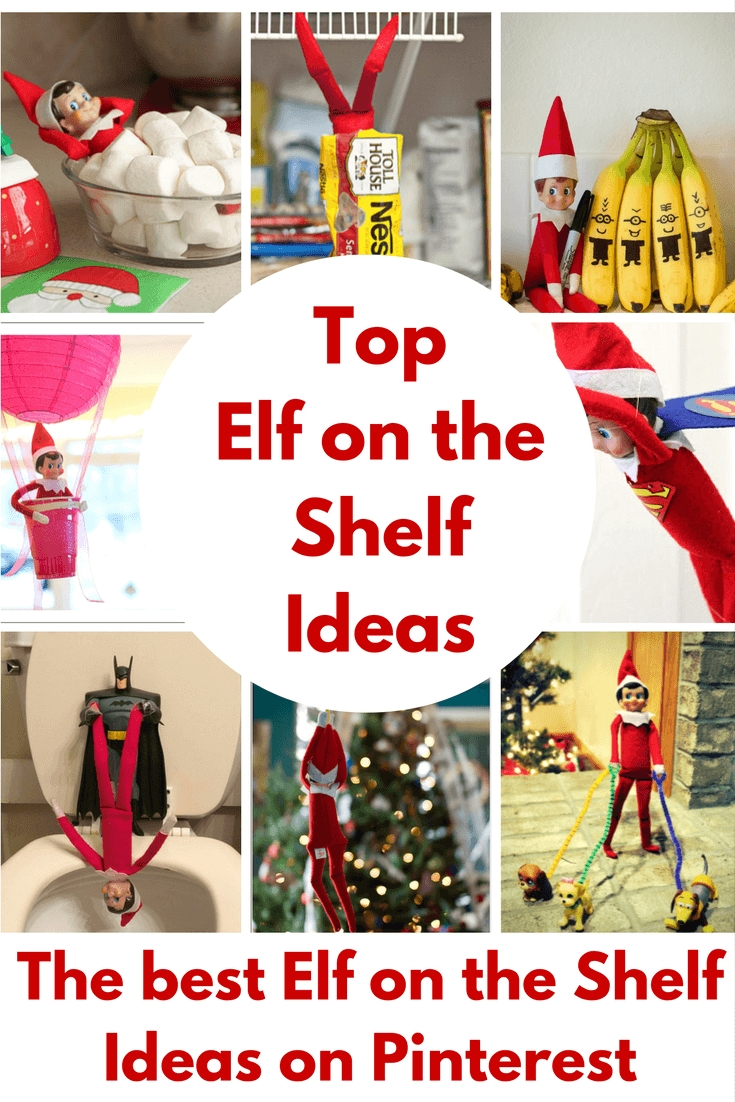 the best elf on the shelf ideas (great last minute ideas too!)