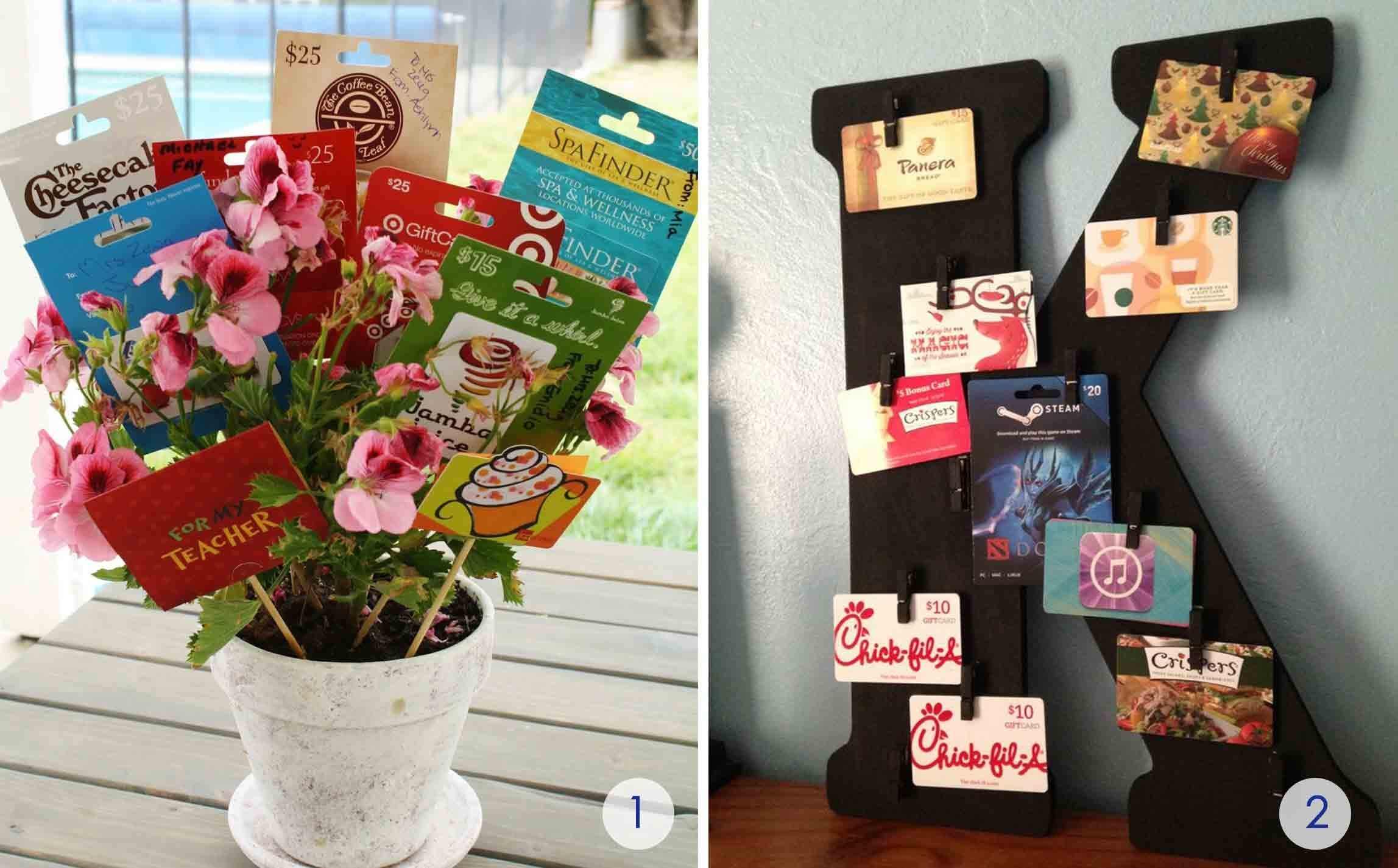 10 Best Gift Card Gift Basket Ideas the best gift card tree and gift card wreaths ever gcg 4 2020