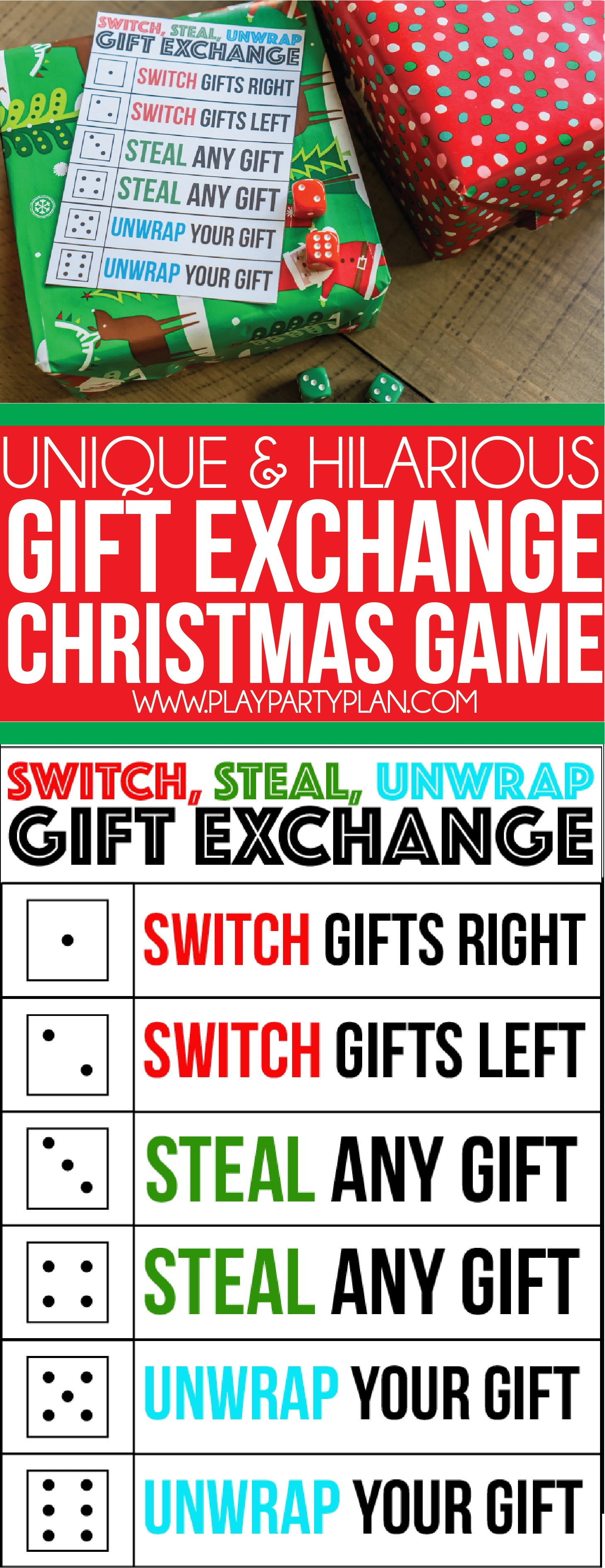 10 Wonderful Ideas For Christmas Gift Exchange the best gift exchange game ever switch steal or unwrap 2