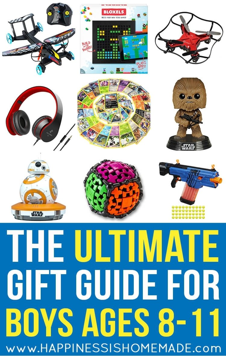 10 Fashionable 11 Year Old Boy Gift Ideas the best gift ideas for boys ages 8 11 happiness is homemade 16 2020