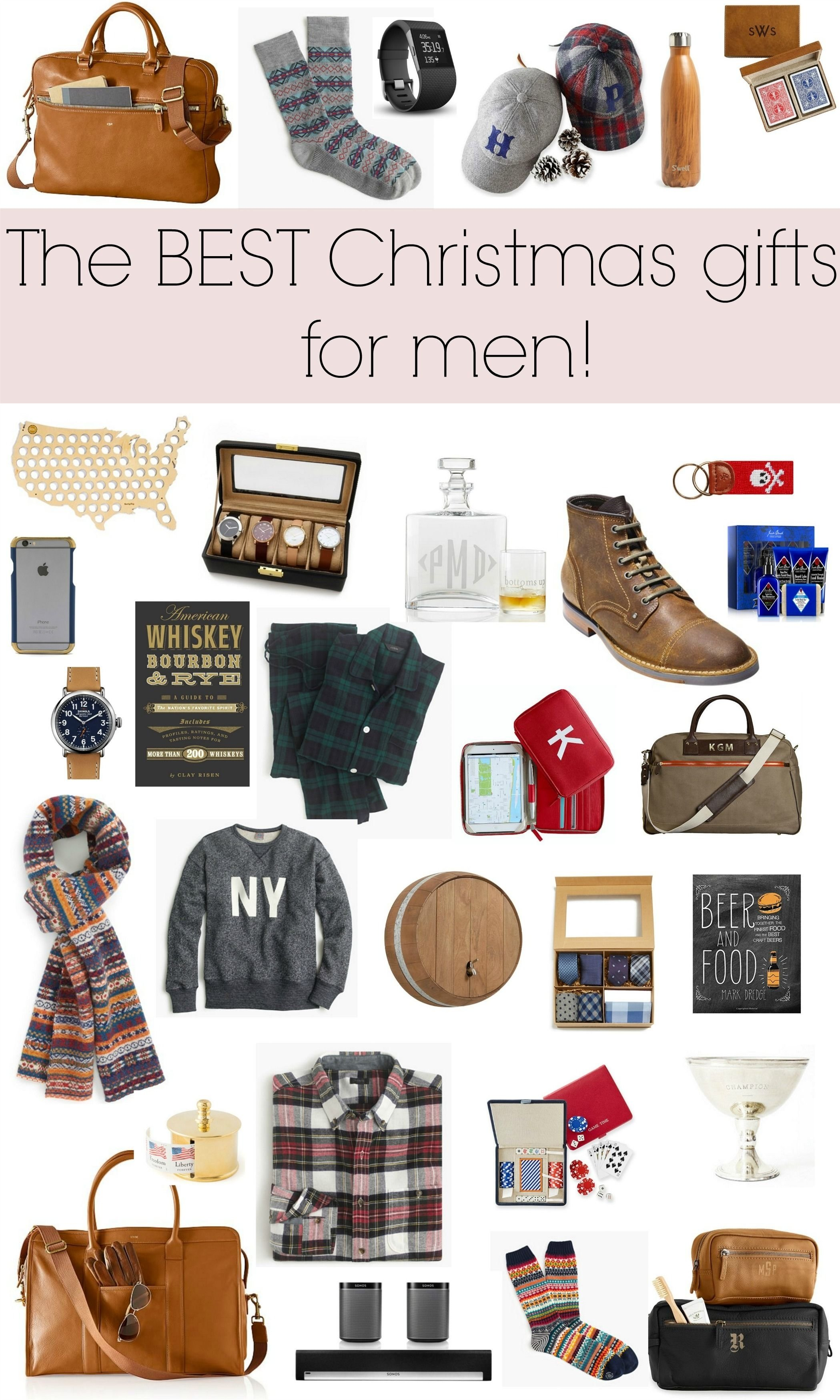 10 Awesome Holiday Gift Ideas For Men the best gifts for men holiday gift guide gingham and christmas gifts 1 2020