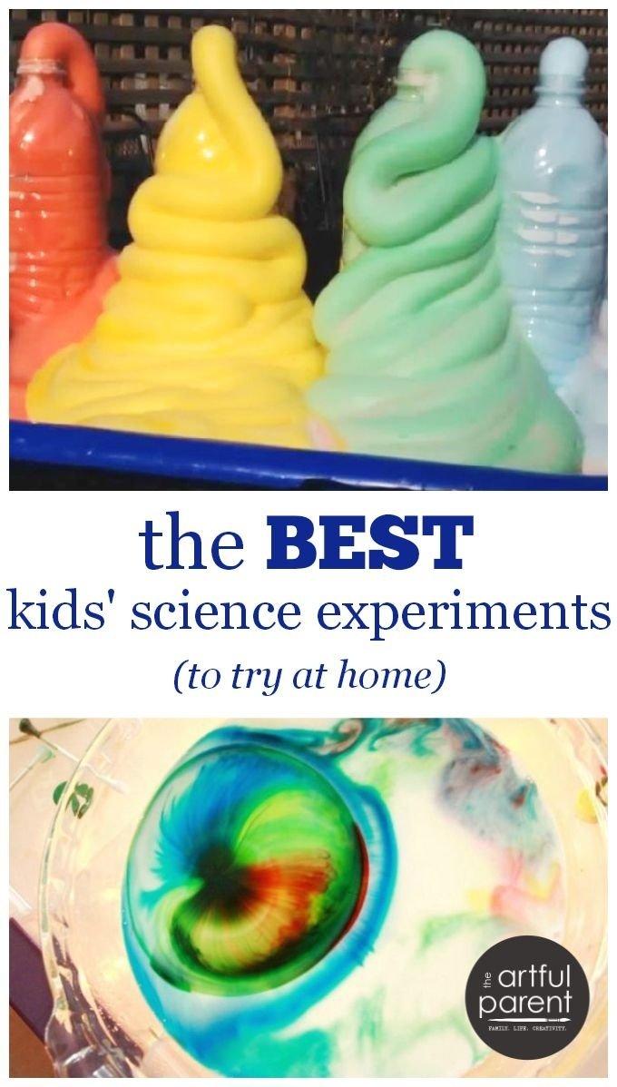 10 Unique Science Experiment Ideas For Kids the best kids science experiments to try at home science 2021