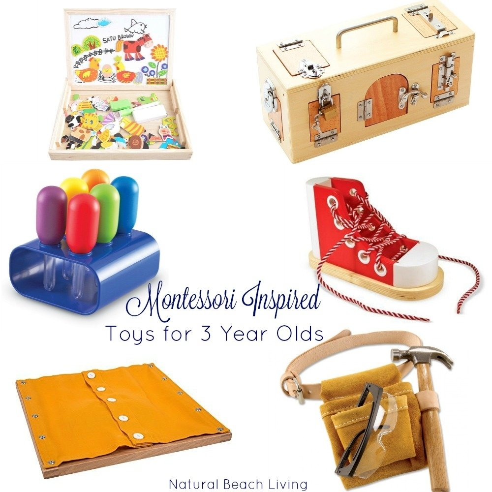 10 Cute Gift Ideas For 3 Year Olds the best montessori toys for 3 year olds natural beach living 2020