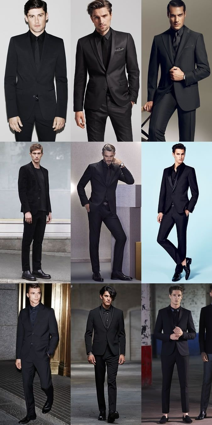 10 Fabulous Prom Outfit Ideas For Guys the black suit all black lookbook inspiration fashion beans 2020
