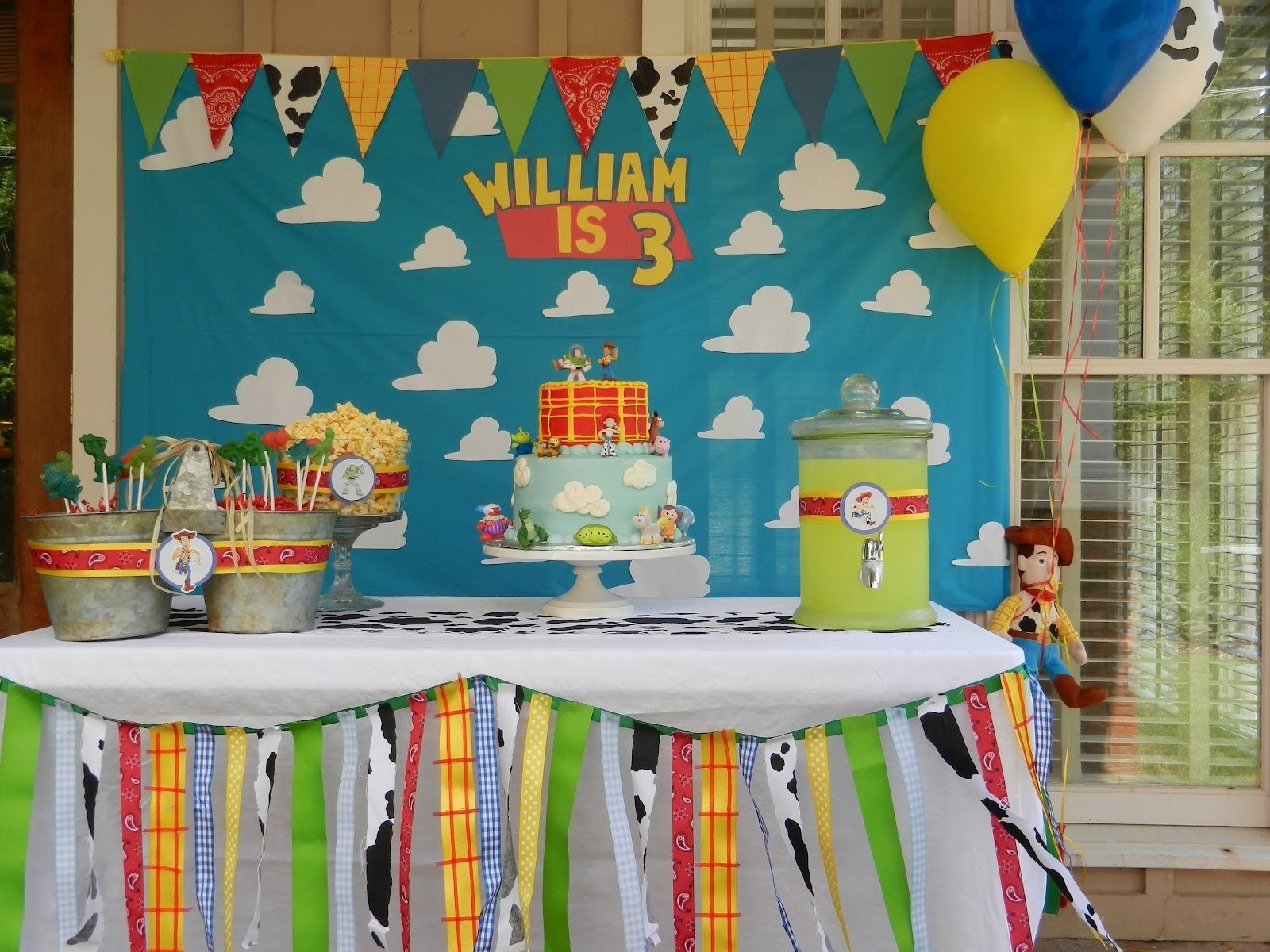 10 Spectacular Toy Story Birthday Party Ideas the bookers williams 3rd birthday baby pinterest birthdays 2021