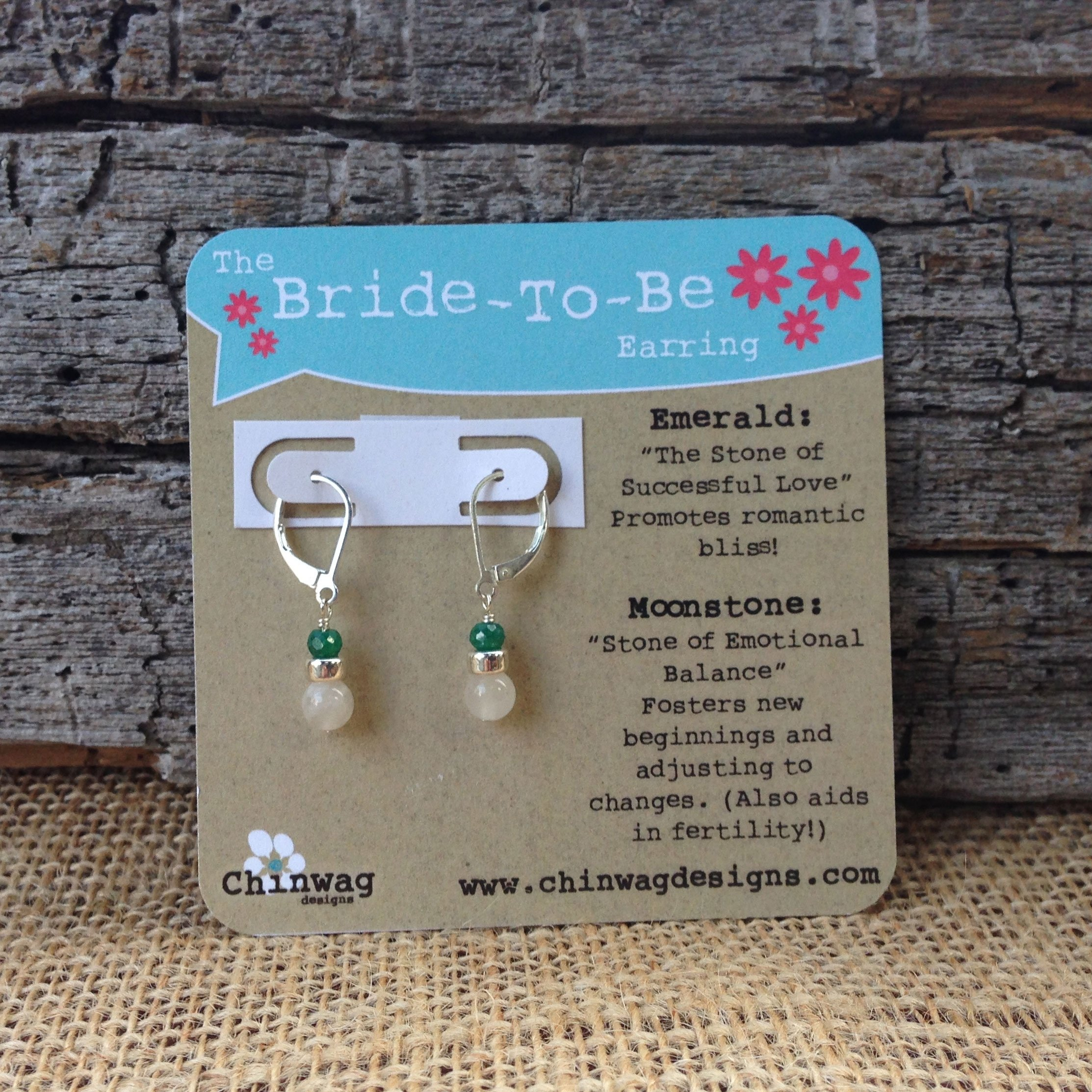 10 Unique Bride To Be Gift Ideas the bride to be earring chinwag designs 1 2020