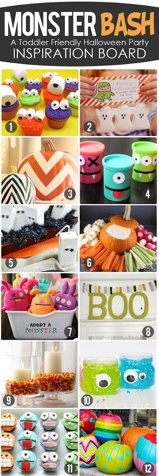 10 Gorgeous Halloween Party Ideas For Toddlers the busy budgeting mama monster bash toddler friendly halloween 1 2020