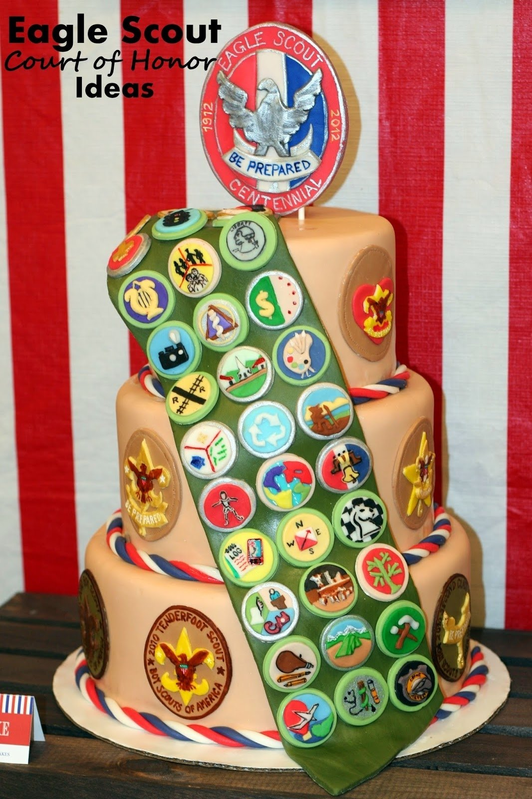 10 Spectacular Boy Scout Court Of Honor Ideas the carver crew an eagle scout court of honor 4