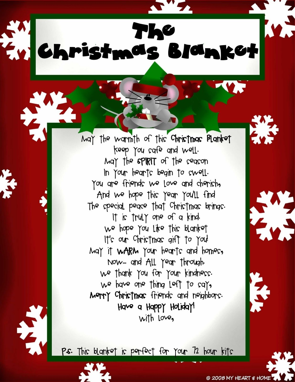 10 Stylish Gift Exchange Ideas For Work the christmas blanket poem to give with a blanket christmas 2021