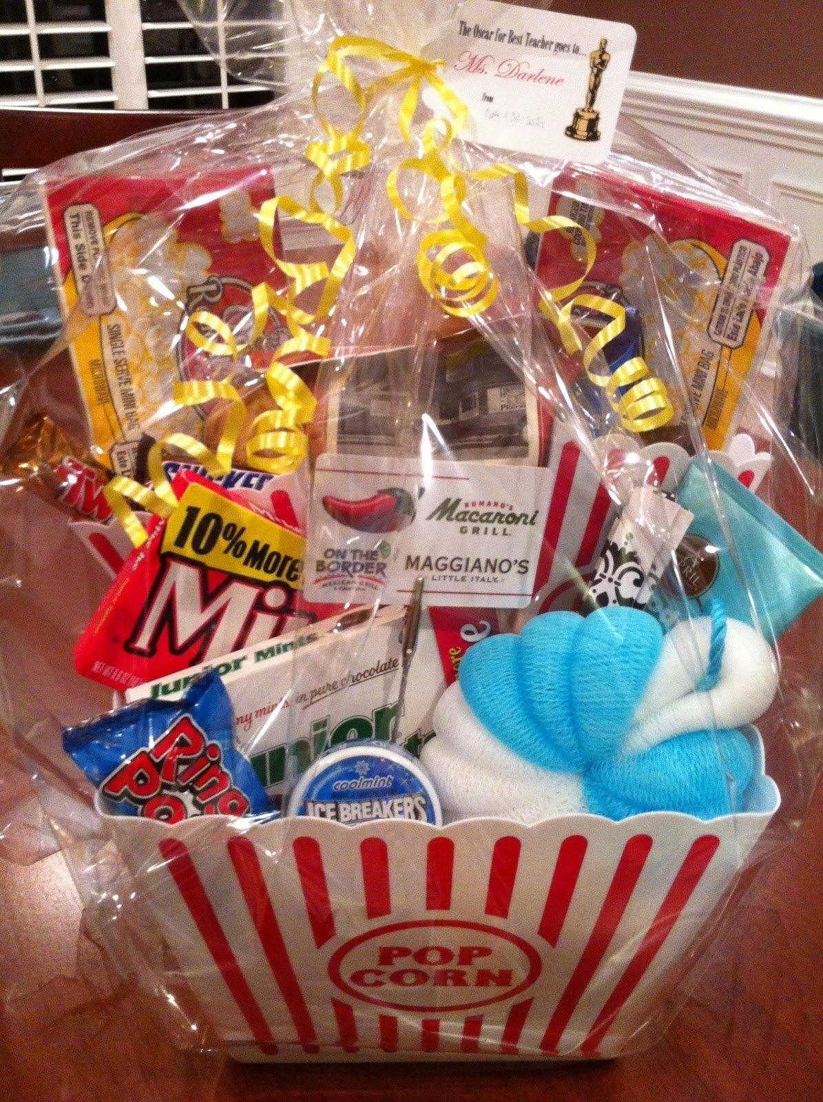 10 Great Gift Basket Ideas For Teachers the clueless chick teacher appreciation gift baskets