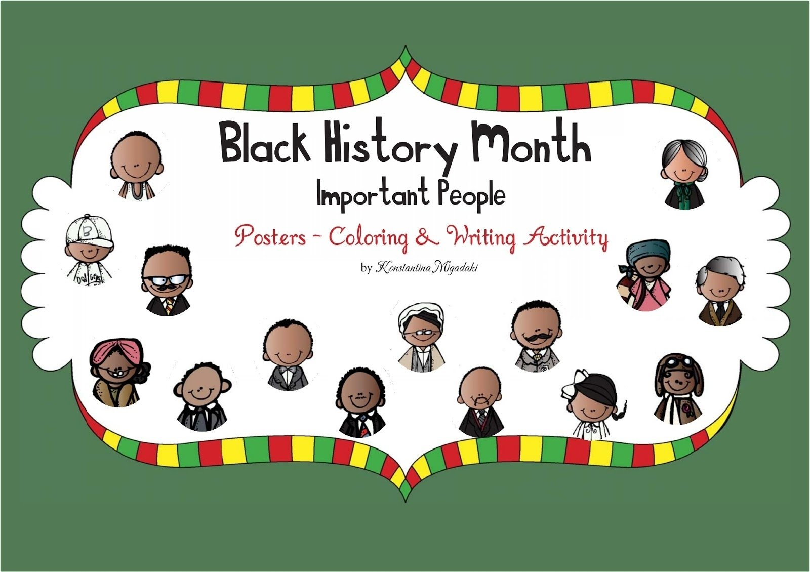 10 Fantastic Ideas For Black History Month the constant kindergartener teaching ideas and resources for early 1 2021