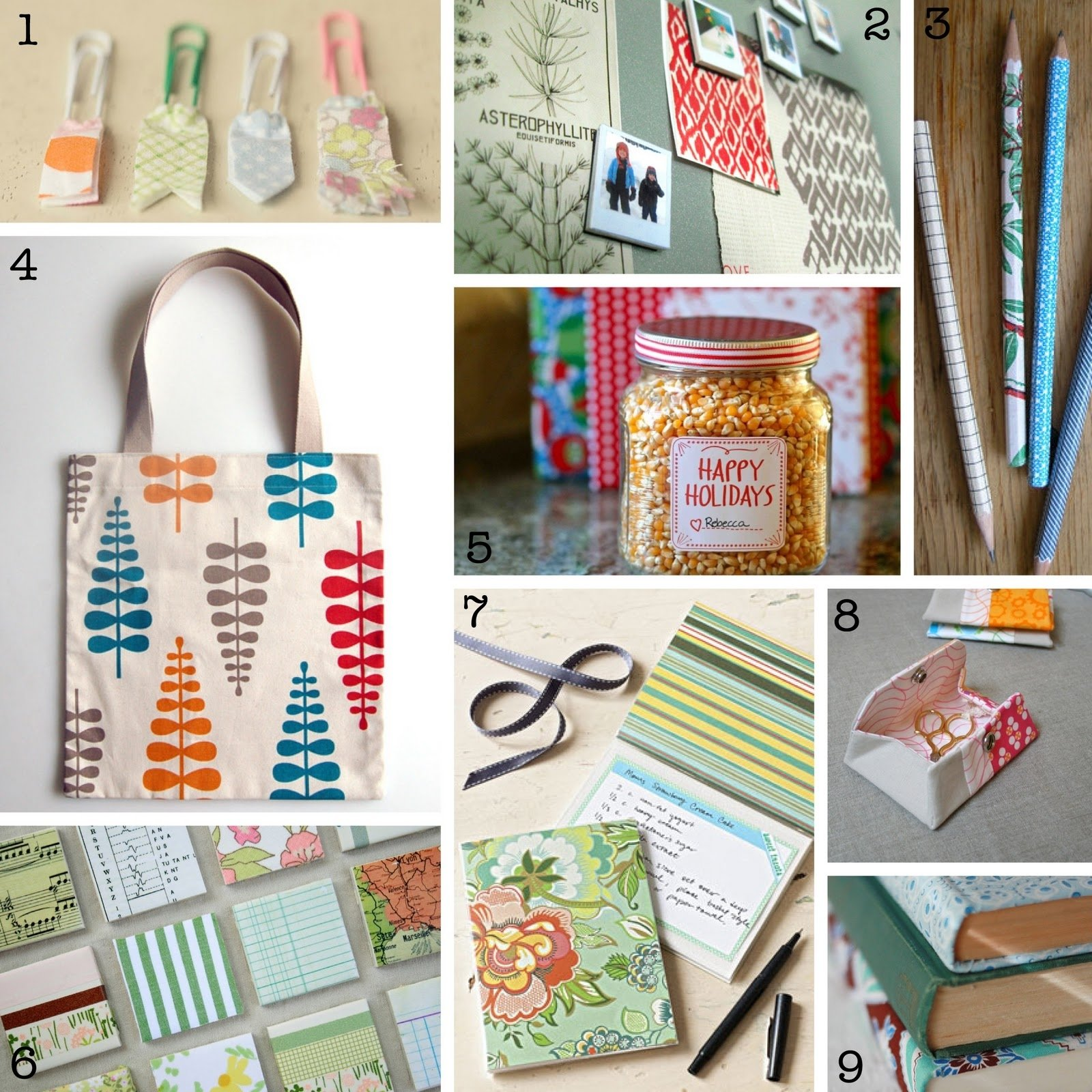 the creative place: last minute diy gift ideas