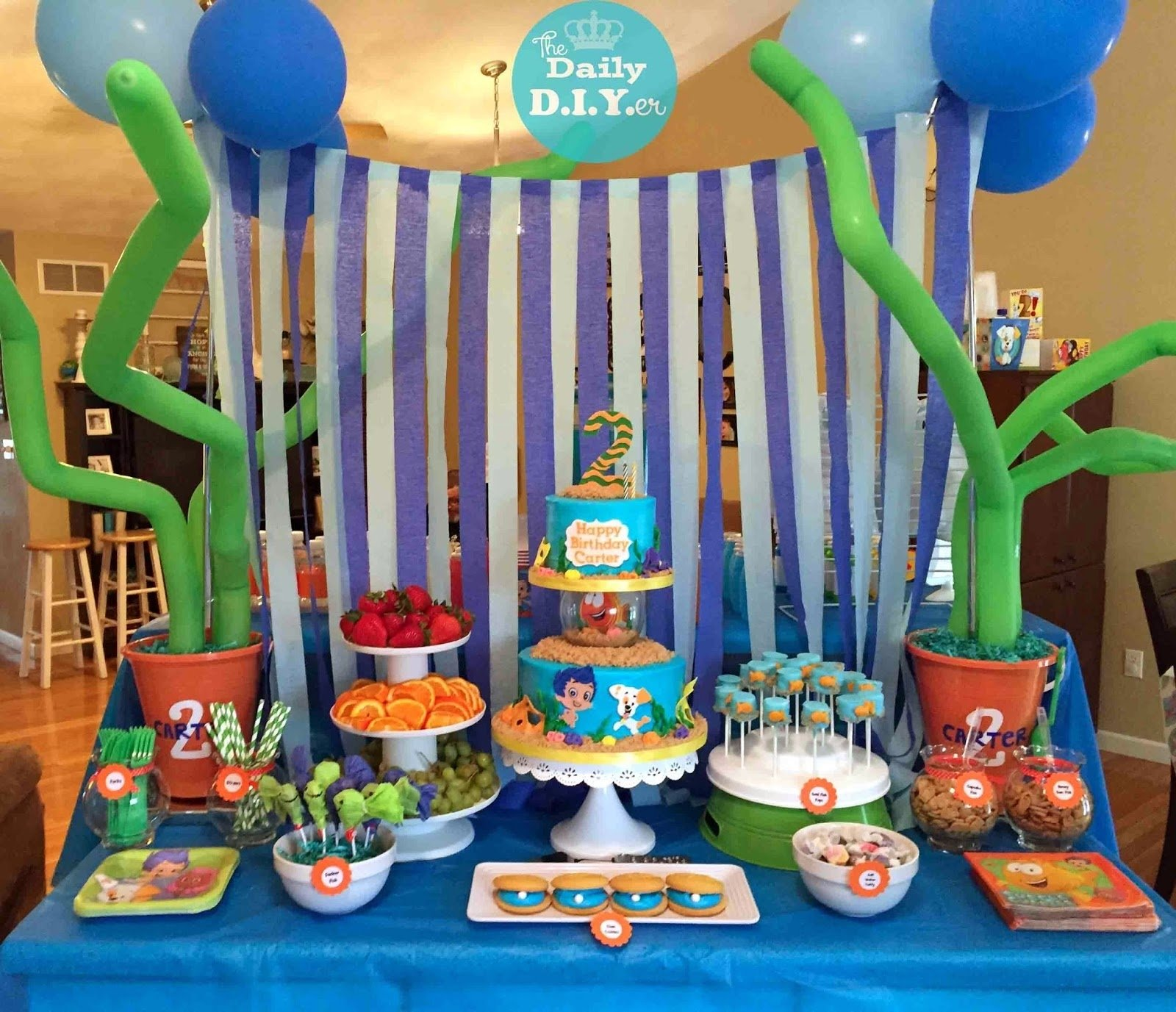 10 Trendy Bubble Guppies Birthday Party Food Ideas the daily diyer bubble guppies party food