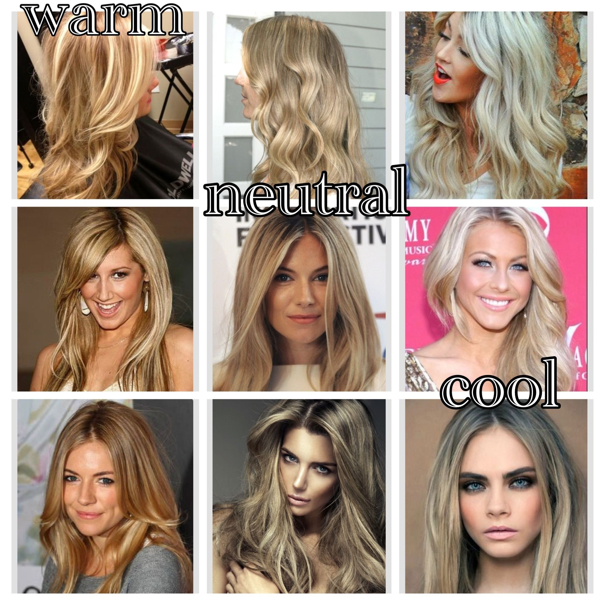 Best Neutral Skin Tone Hair Color Image Collection
