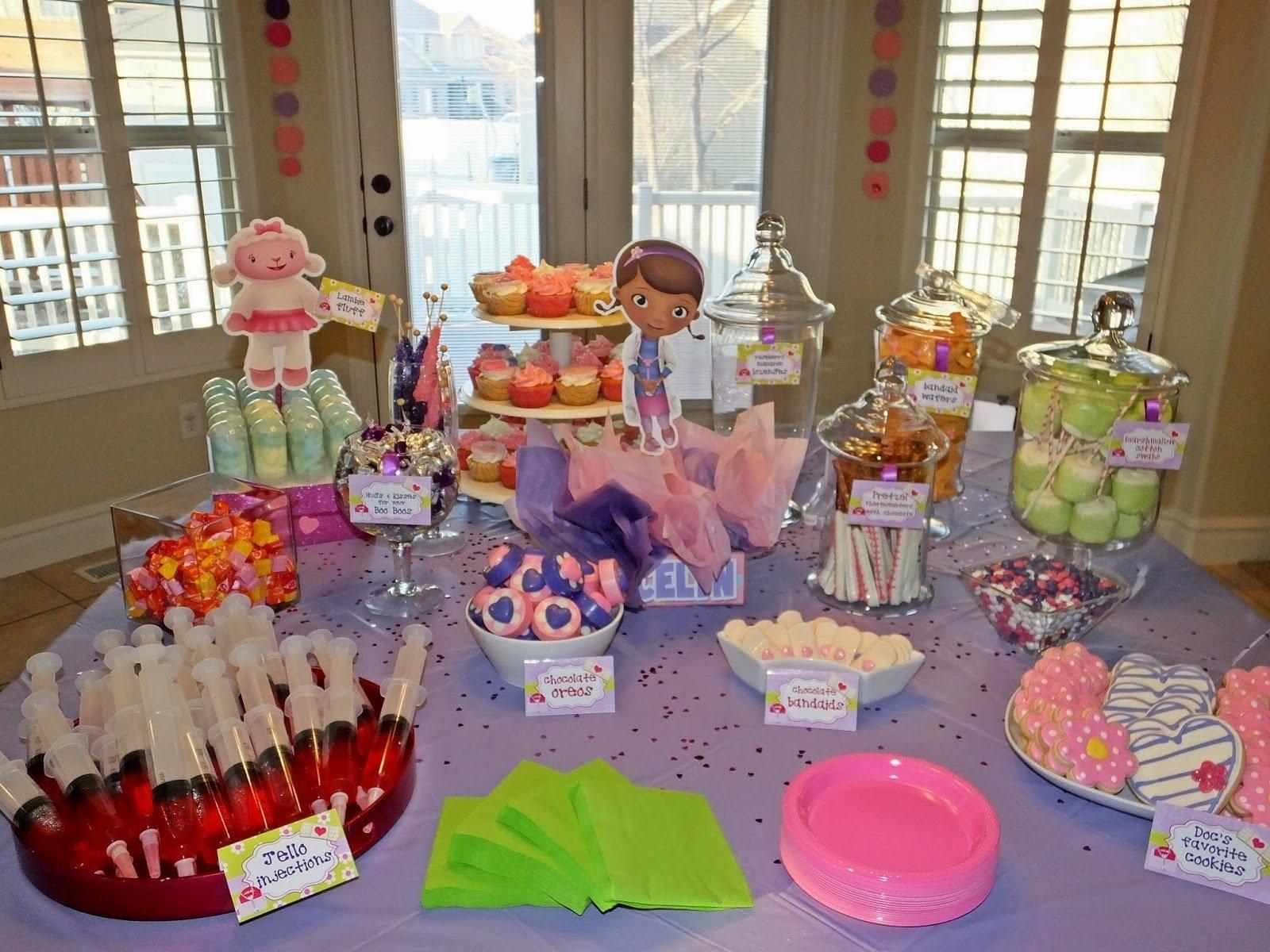 10 Spectacular Doc Mcstuffin Birthday Party Ideas the doctor themed food doc mcstuffins birthday party pinterest