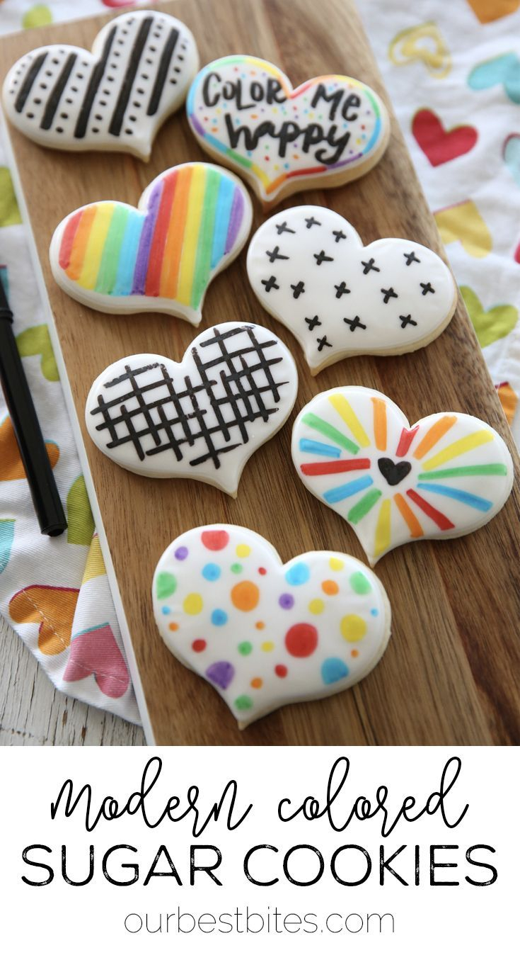 the easiest sugar cookie decorating method! | snack recipes & ideas
