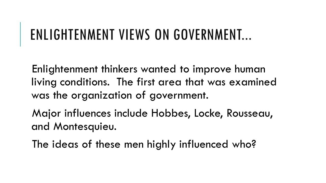 10 Great Main Ideas Of The Enlightenment the enlightenment main idea thinkers during the age of reason or 2 2021