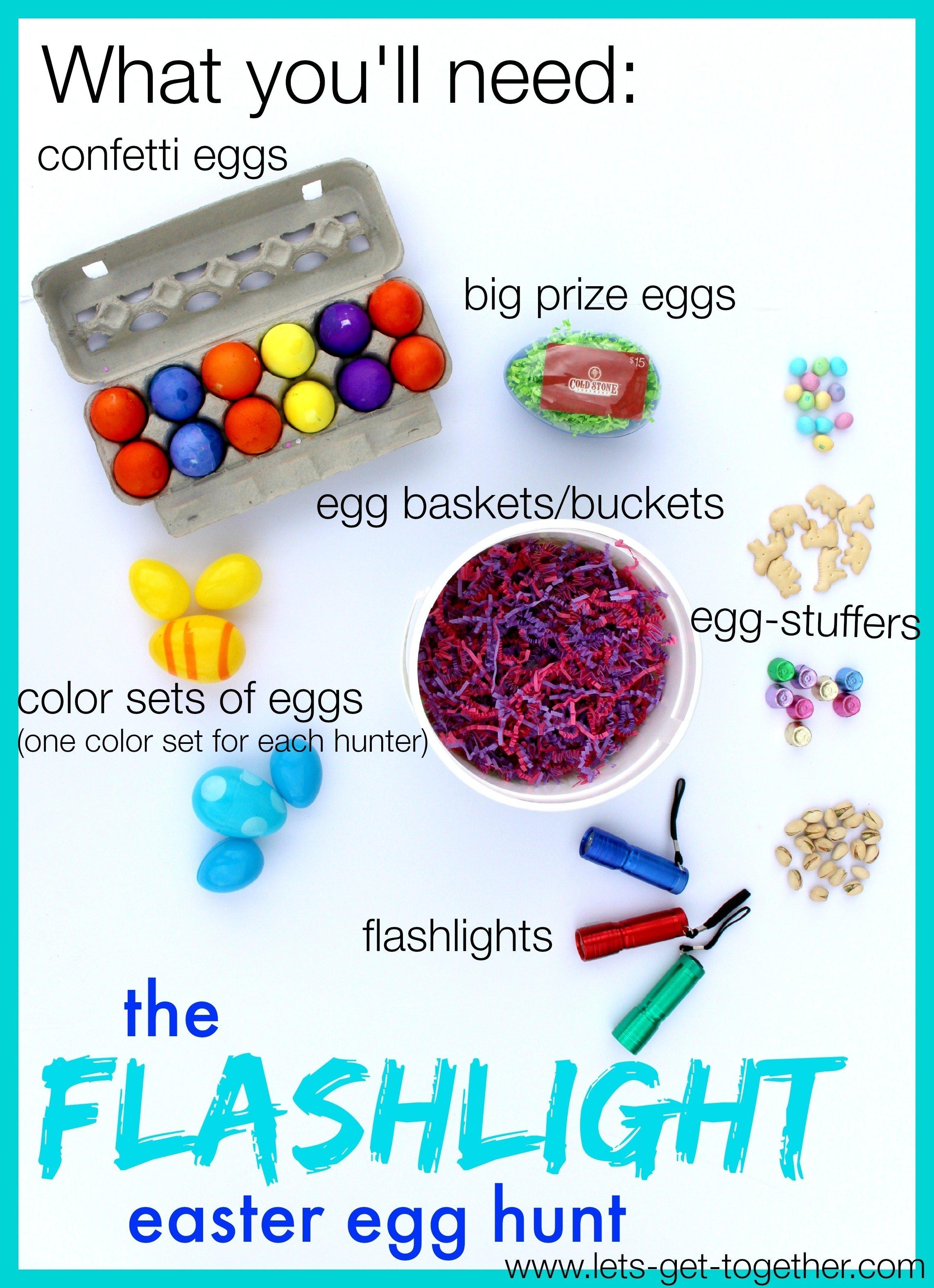 10 Pretty Ideas For Easter Egg Hunt the flashlight easter egg hunt 2021