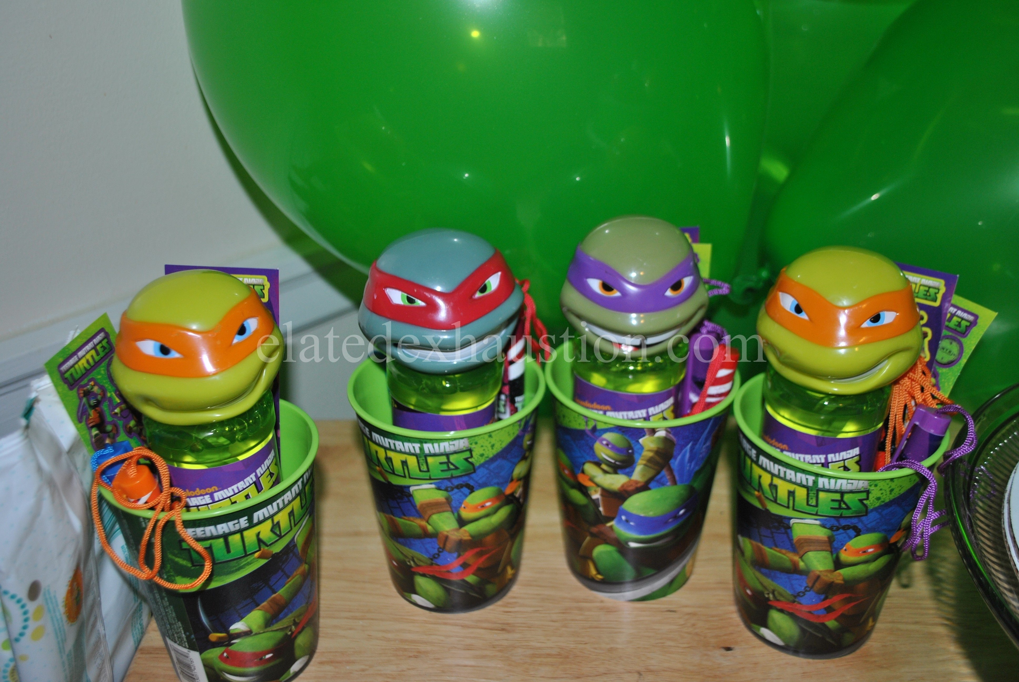 10 Awesome Teenage Mutant Ninja Turtles Party Favor Ideas the fourth birthday party ninja turtle style elated exhaustion 1
