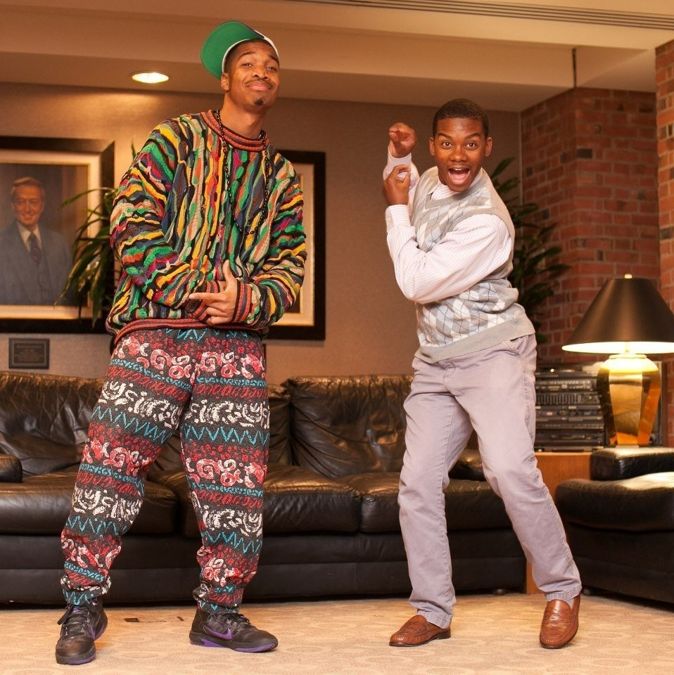 the fresh prince and carlton | diy '90s halloween costumes