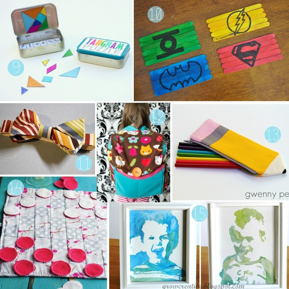 10 Fabulous Christmas Craft Gift Ideas For Kids the how to gal diy christmas gift guide for children 2012 3 2021