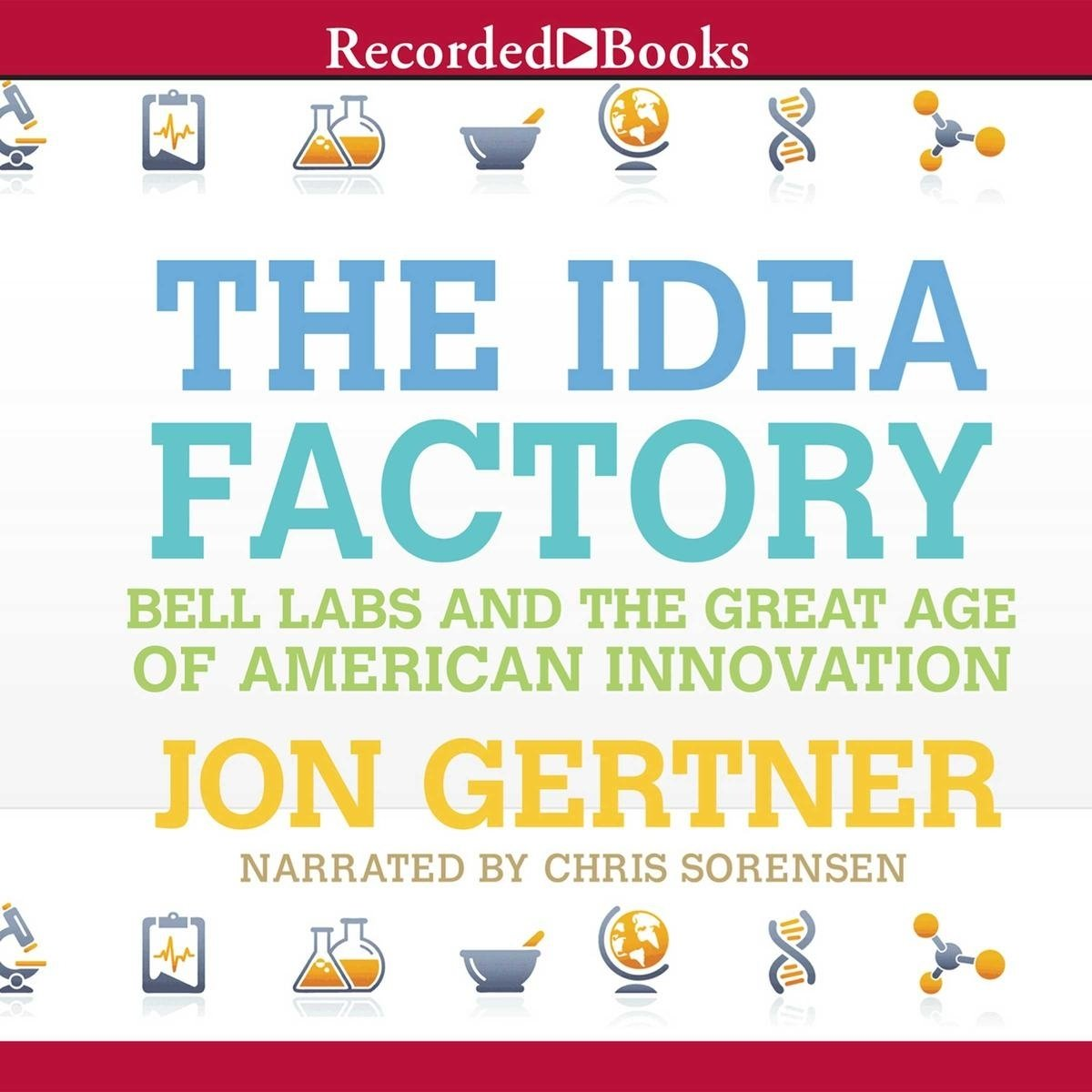 the idea factory audiobookjon gertner - 9781464038433 | rakuten kobo