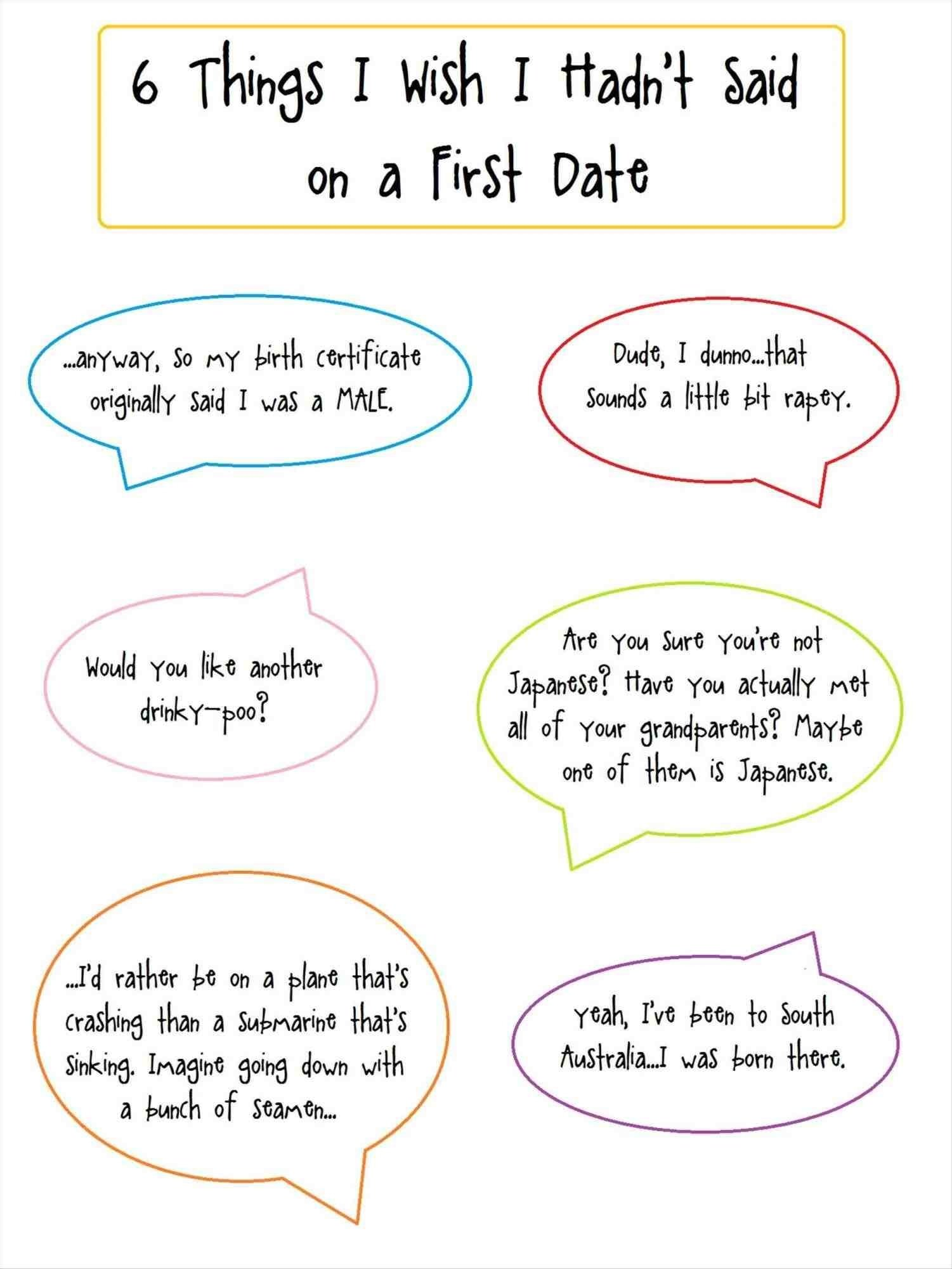 Fun ideas for first dates
