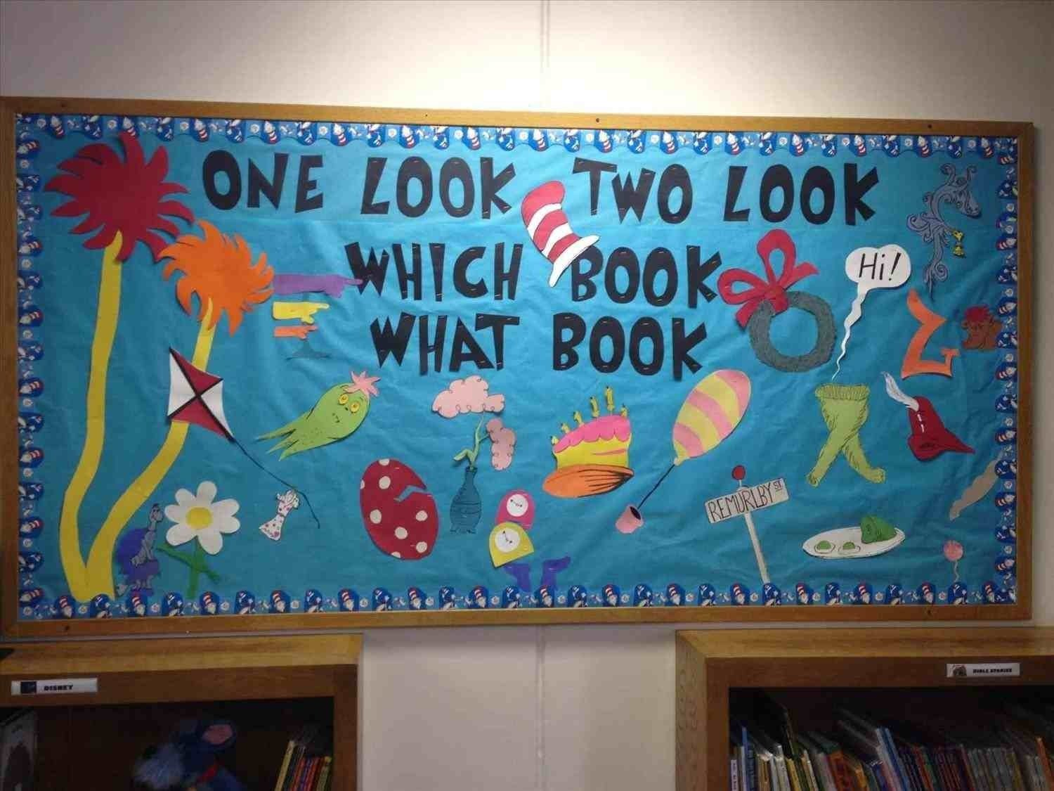10 Fabulous Elementary School Bulletin Board Ideas the images collection of in elementary school library spring reading 2020