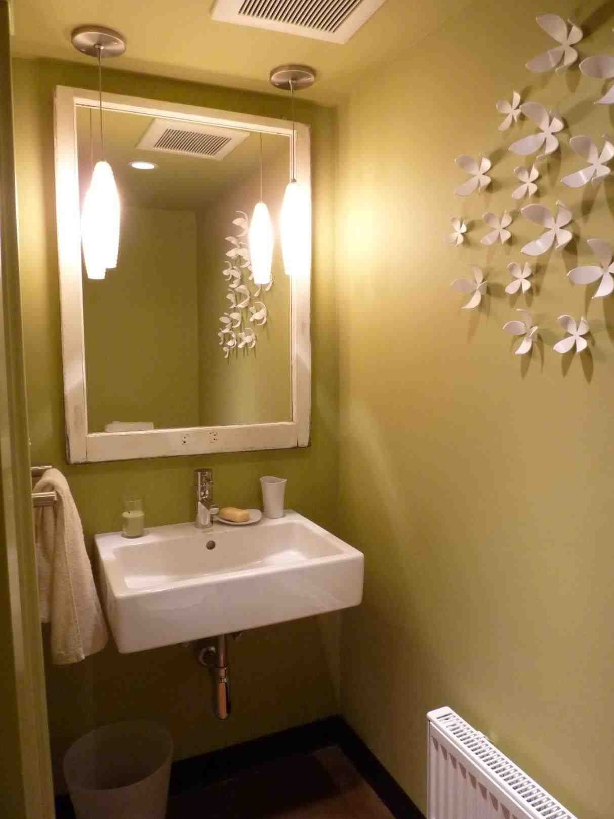 10 Ideal Small Powder Room Decorating Ideas the images collection of interior small powder room decor powder 2020