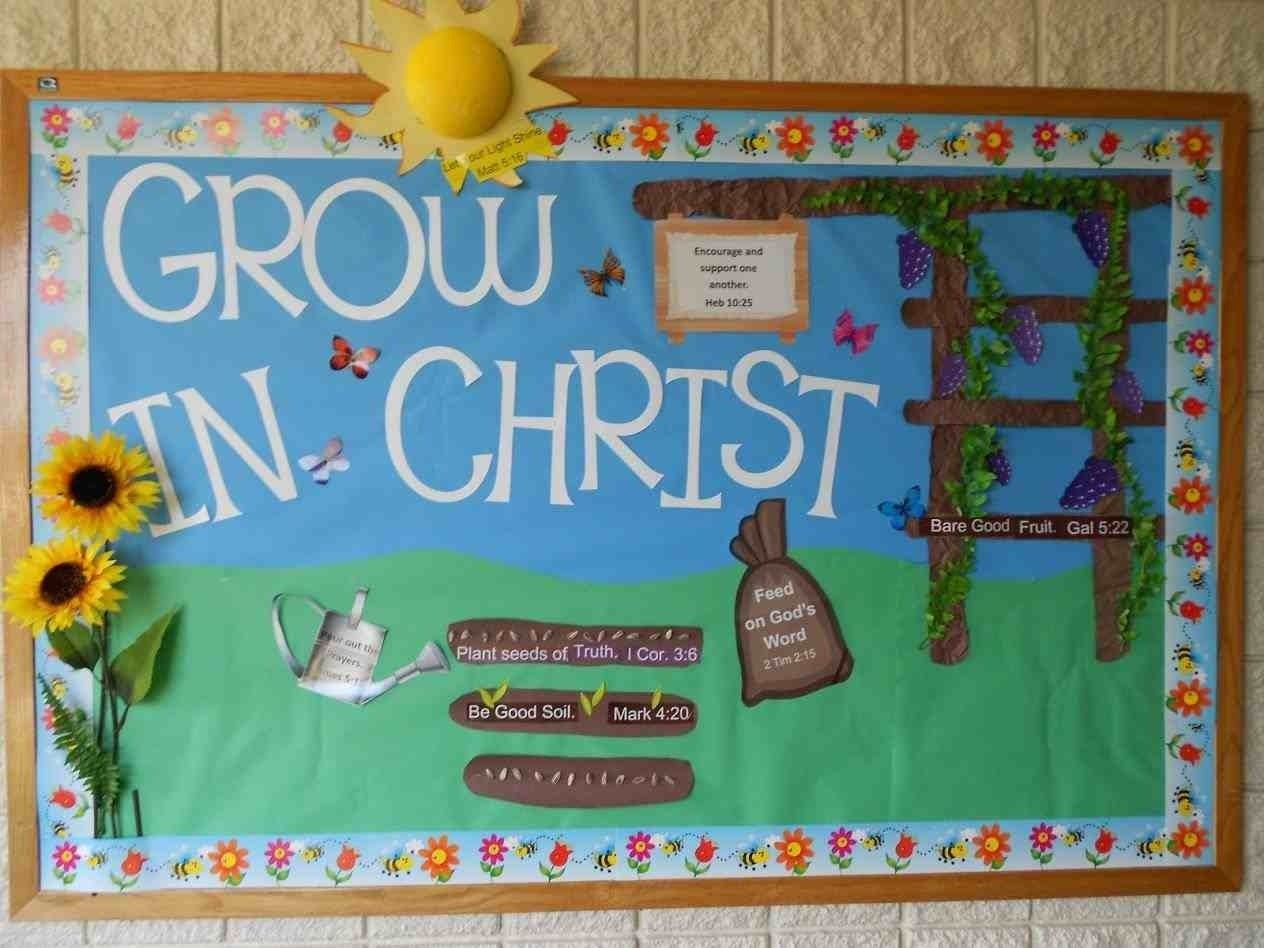 10 Trendy Bulletin Board Ideas For Church the images collection of our toddler christian spring bulletin board 2 2020