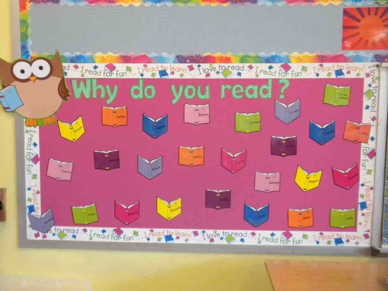 10 Gorgeous Bulletin Board Ideas For Kindergarten the images collection of s preschool spring reading bulletin board 1 2020