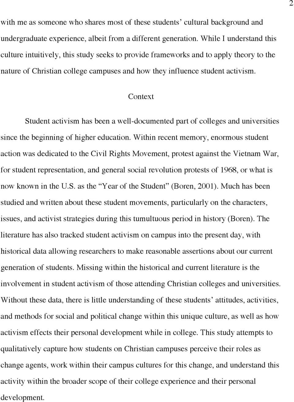 10 Attractive The Idea Of A Christian College the impact of institutional culture on student activism a multi 2020
