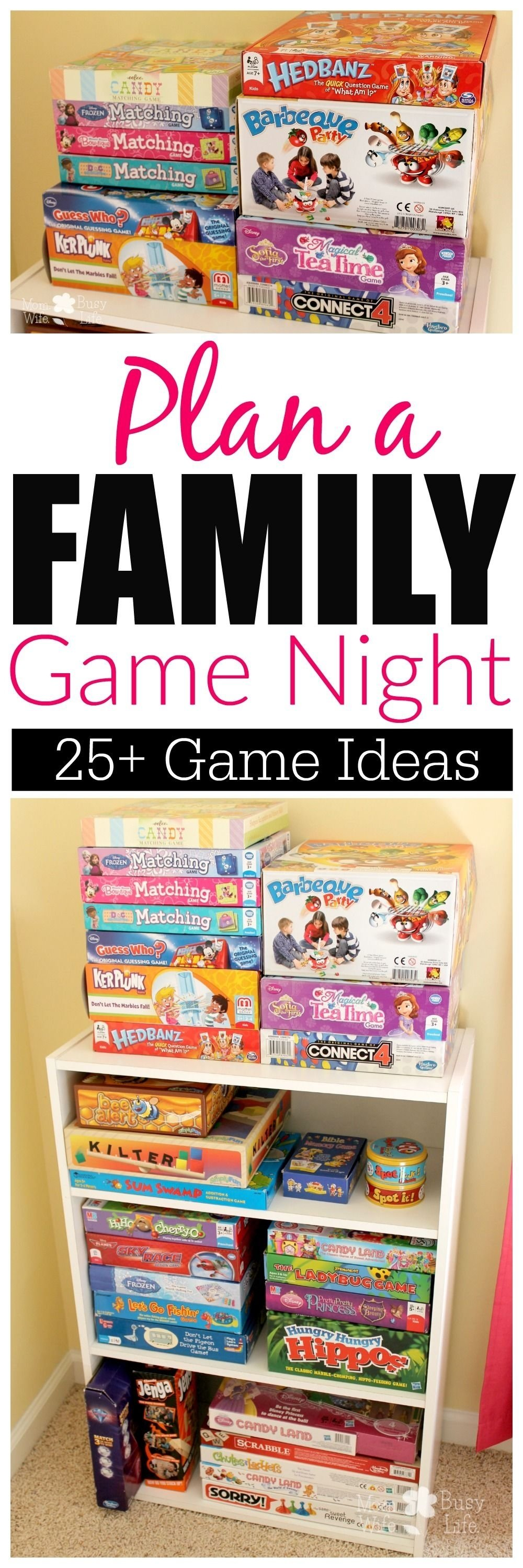 10 Attractive Ideas For Family Game Night the importance of family game nights 2021