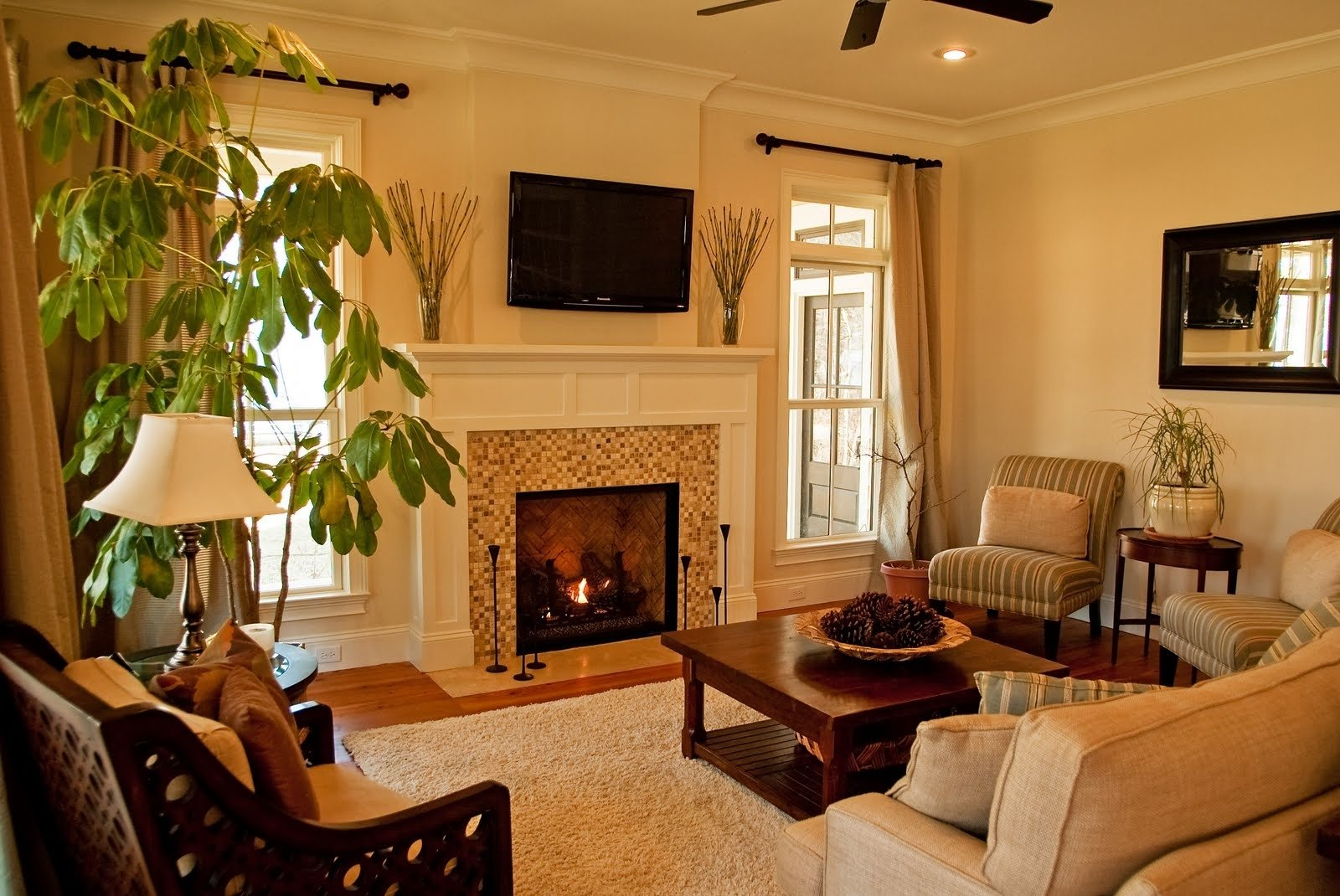 10 Elegant Living Room Ideas With Fireplace the incredible along with interesting decorating ideas for living 2021