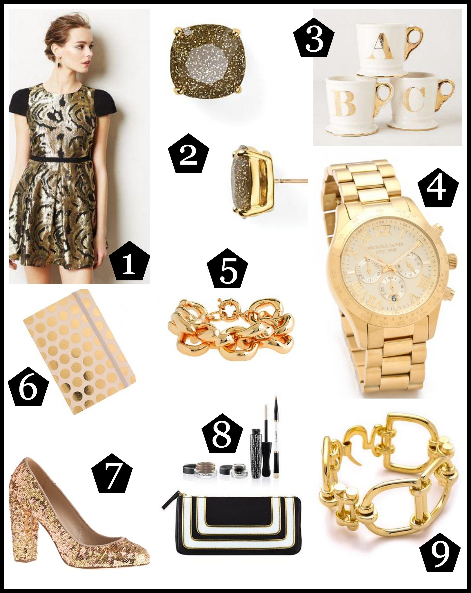 10 Attractive Best Gift Ideas For Women 2013 the jcr girls holiday gift guide gold edition the jcr girls 1 2020
