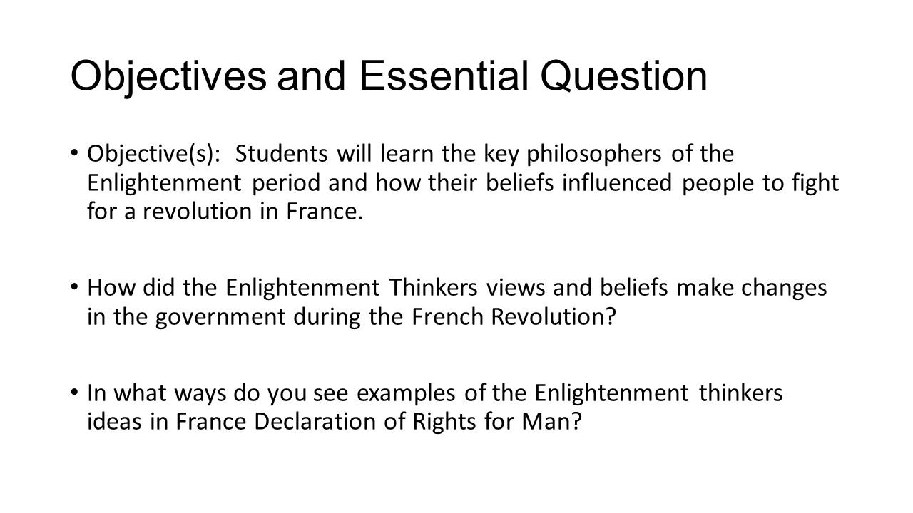 10 Great Main Ideas Of The Enlightenment the key ideas of the enlightenment essay term paper service 2021