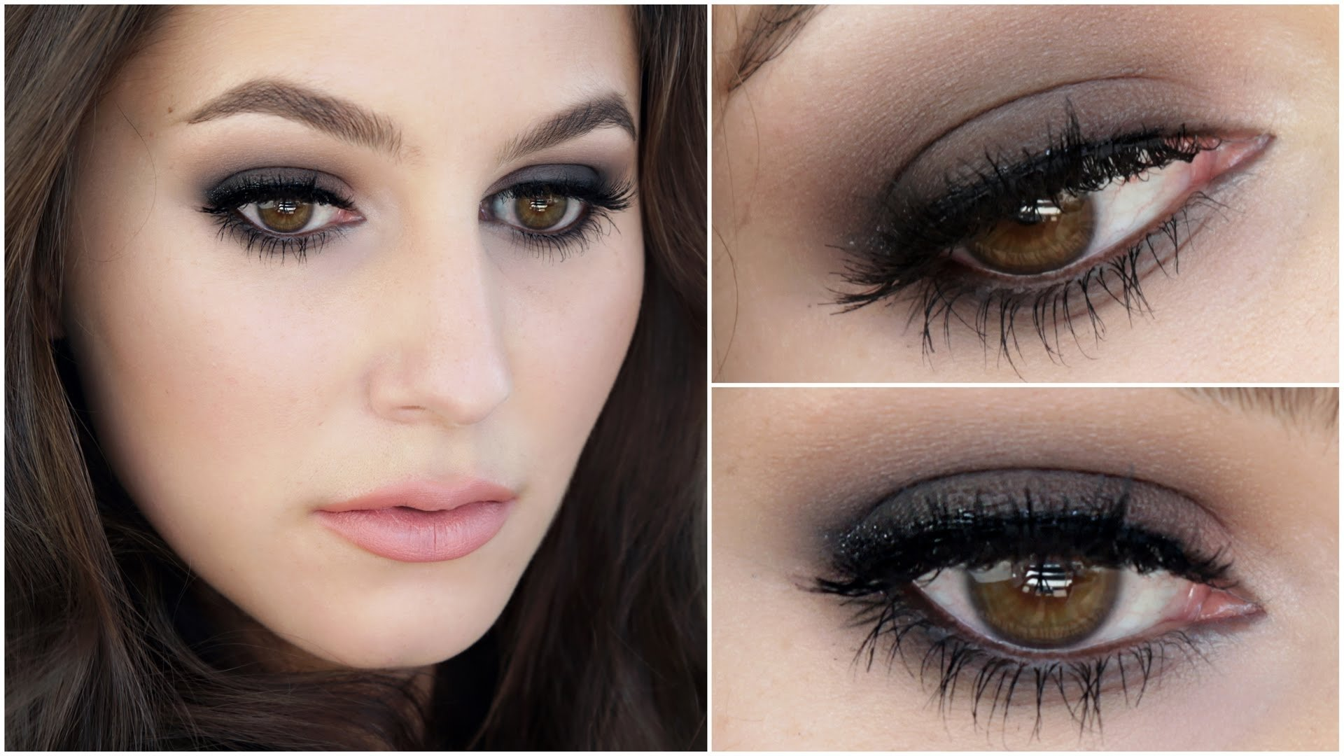 the little black dress of makeup - smokey eye tutorial - youtube