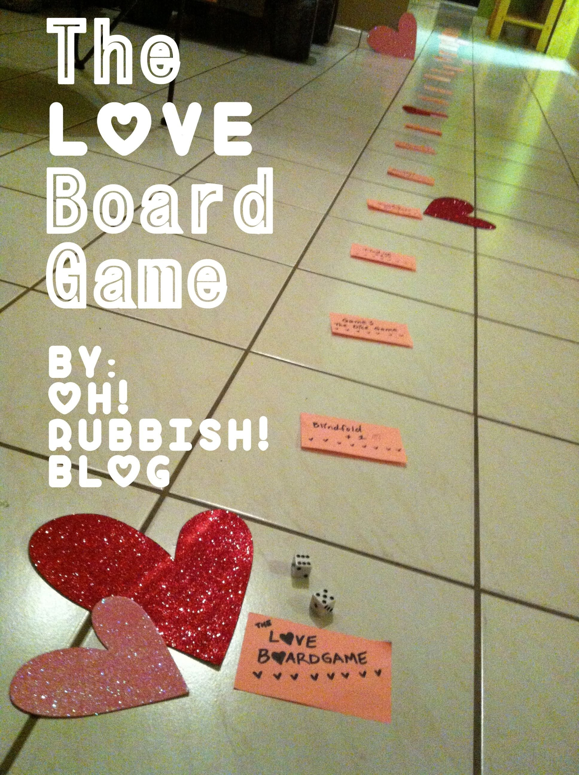 the love board game :: valentine game for couples :: valentine day