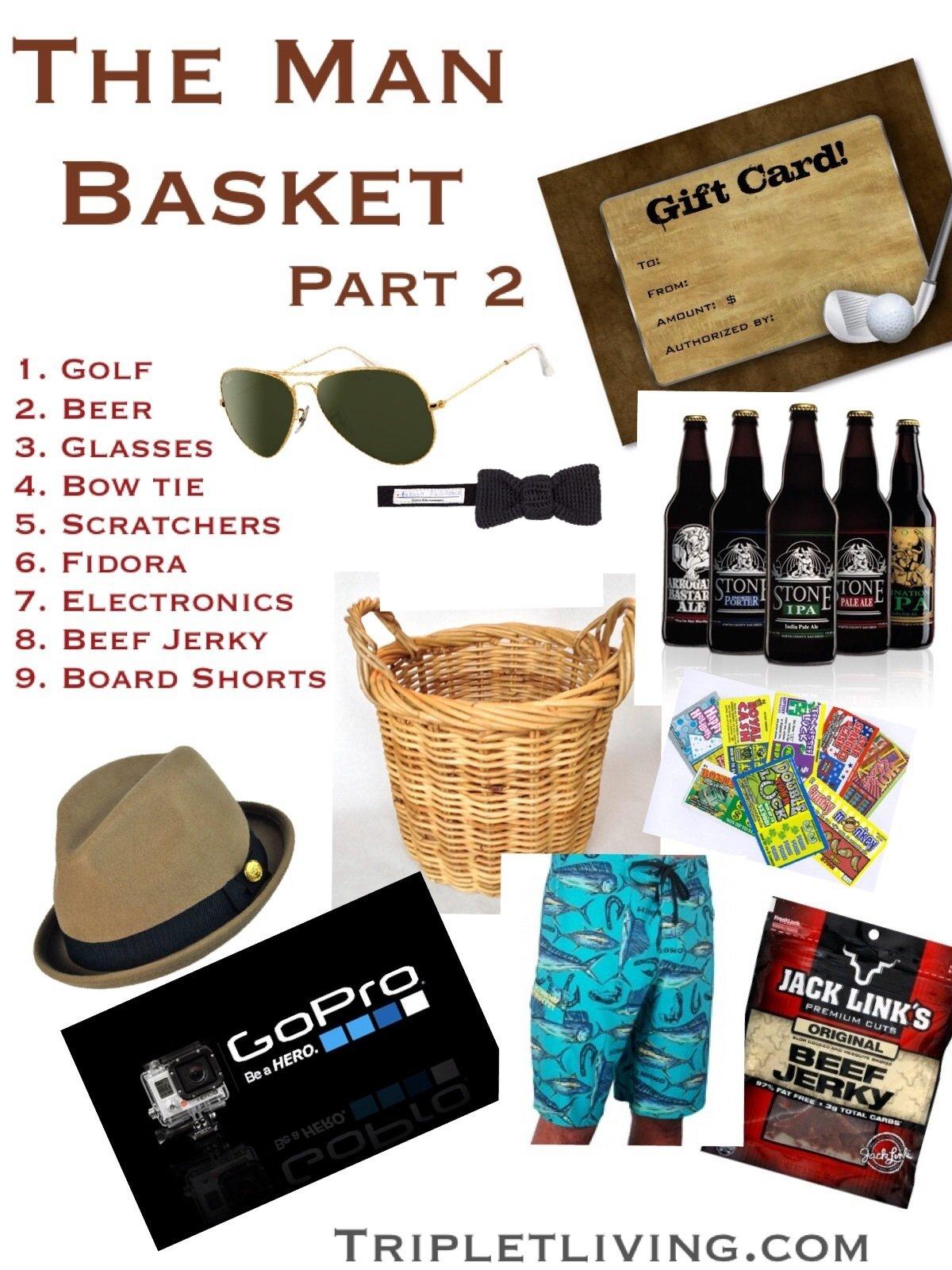 10 Elegant Easter Basket Ideas For Husband the man basket partii triplet living 1
