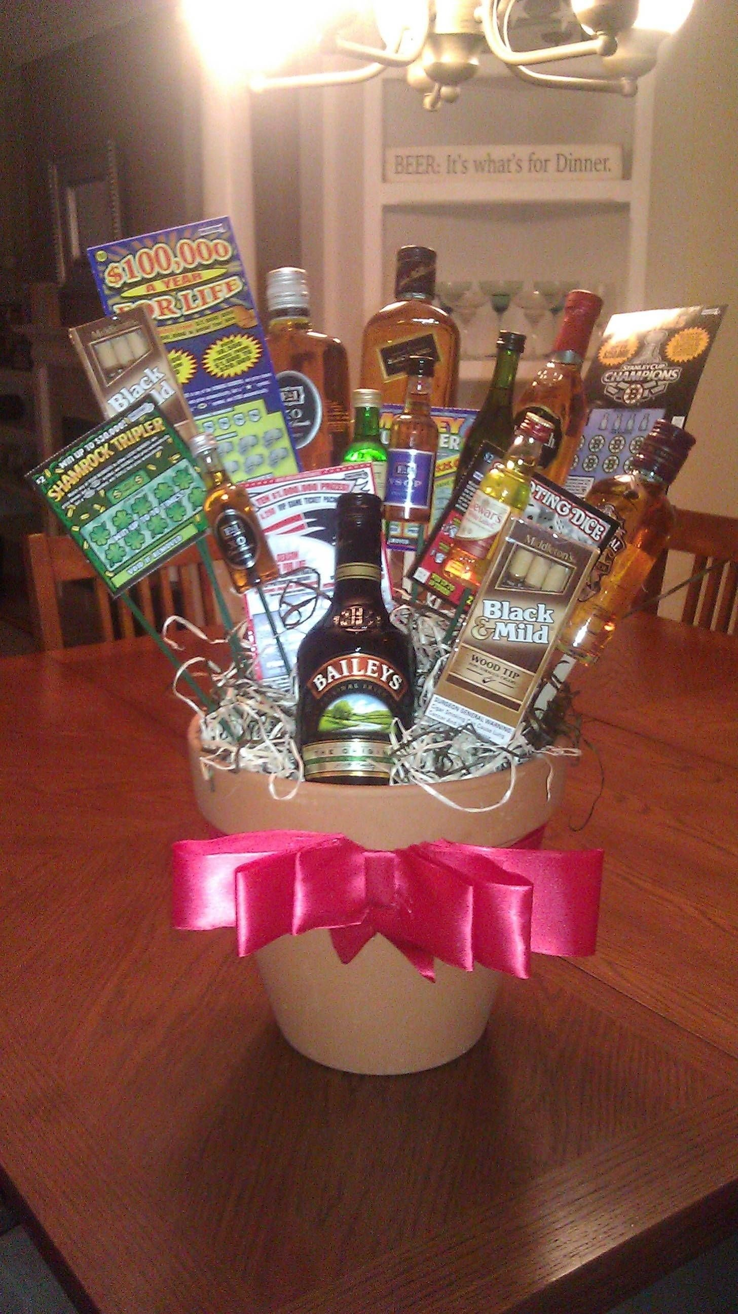 10 Cute Gift Baskets For Men Ideas the most awesome images on the internet man bouquet men gifts and 1 2020