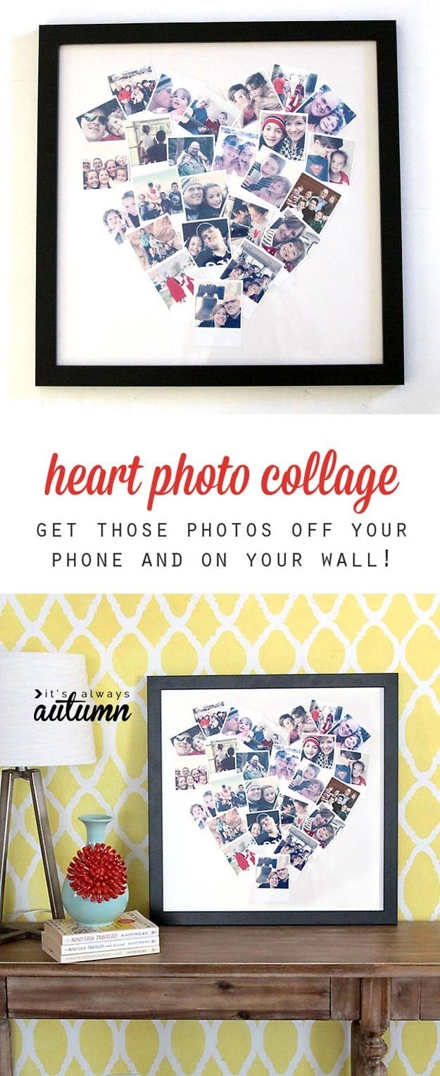 10 Lovely Cute Craft Ideas For Boyfriend the most creative diy photo projects ever