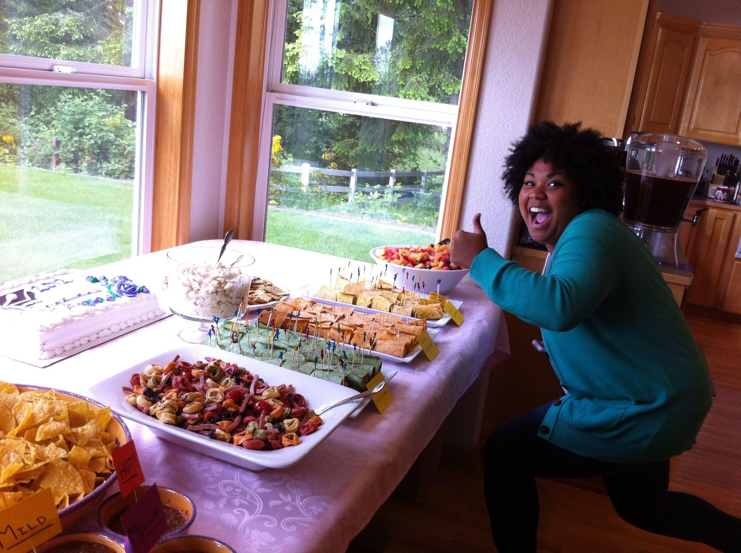 10 Stylish Graduation Open House Menu Ideas the open house food high school graduation ideas pinterest 1 2021