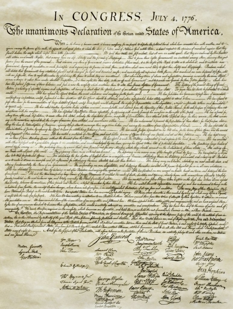 the paradox of the declaration of independence - the aspen institute