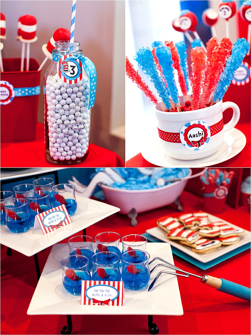 10 Beautiful Cat In The Hat Birthday Party Ideas the party wall cat in the hat inspired birthday 3 2020